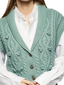 Euro Button Down Knit Cardigan Sweater
