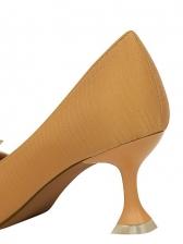 Pointed Toe Rhinestone High Heel Shoes