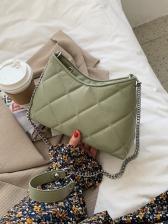 Popular RhombusPlaid Chain Shoulder Bags