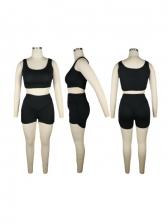 Summer Solid Cotton Women Sportswear