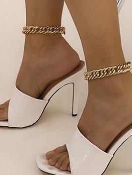 Punk Hip Hop Style Trendy Anklet Women