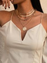 Simple Vintage Pendant Necklace For Women