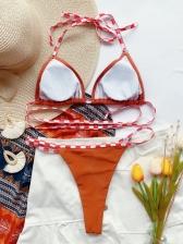 Women Seductive Halter Bikini Sets Beach