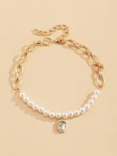 Temperament Faux-Pearl Vintage Party Necklace