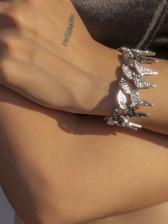 National Style Punk Rhinestone Bracelet Women