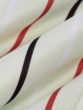 Front Tie Wrap Turndown Collar Spring Blouse