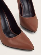 Euro Chain Strap Pointed Toe Stiletto Shoes