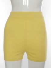 Summer Sport Skinny High Waist Short Pants