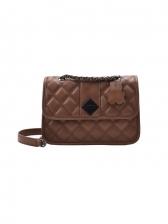 Spring RhombusPlaid Shoulder Handbags