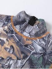 Summer New Print Short Sleeve Jumpsuit
