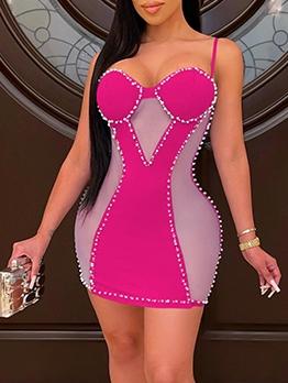Sexy Fashion Backless Club Skinny Camisole Dress