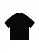 Tongue Printed Short Sleeve Couple T Shirt