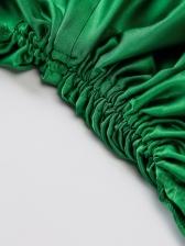 Sexy Solid Silk Camisole Dress Summer