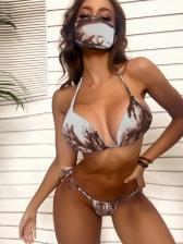 New Print Bikini For Woman Without Mask
