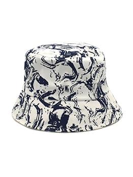 Graffiti Print Fashion Outdoors Fisherman Hats