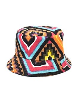 Novelty Print Reversible Wear Fashion Bucket Hat