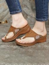 Euro Round Toe Ladies Slippers