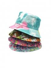 Latest Novelty Printed Travel Bucket Hat