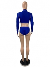 Euro Sexy Cut Out Two Piece Swimsuit