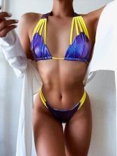 Fish Scales Print Design Sexy Bikini Sets