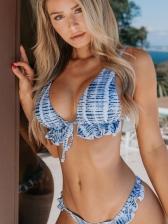 Sexy Ruffled Beach Women Two Pieces Bikini Sets