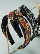 Hand-Woven Vintage National Baroque Hair Hoop