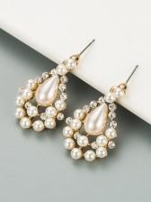Stylish Versatile Faux-Pearl Earrings For Women