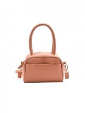 Korea Style Solid Small Ladies Handbags