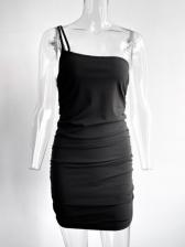 Fashion Latest One Camisole Black Bodycon Dresses