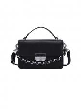 Vintage Solid Korean Style Stylish Cross-Body Bag