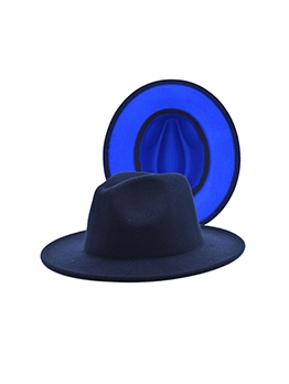Trendy Vintage Wide Brim Jazz Fedora Hats