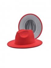Trendy Vintage Wide Brim Jazz Fedora Hats