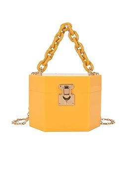 Candy Color Fashion Make-Up Box Chic Shoulder Bag