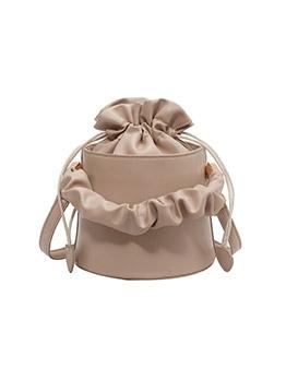 Vintage Solid Korean Bucket Shoulder Bags
