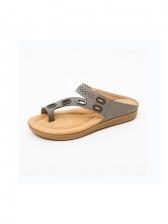 Euro Round Toe Women Slide Slippers