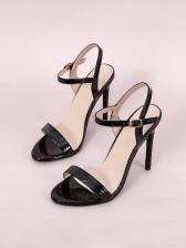 Sexy Round Toe Stiletto Sandals For Women