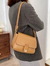 Spring Dating Vintage Solid Shoulder Bags Women