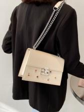 Fresh Embroidered Design Versatile Dating Shoulder Bag