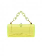 Acrylic Transparent Trendy Chain Cross-Body Bag