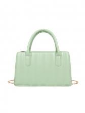 Spring Striped Chain Handbags For Women