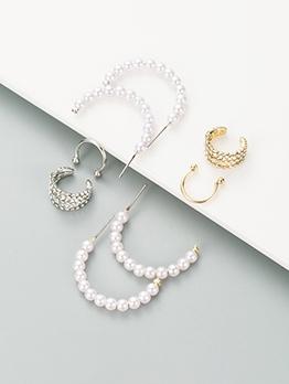 Fashion Faux Pearl Earrings For Women