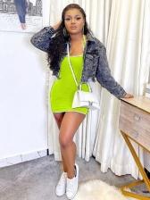 Summer Sexy Backless Halter Mini Dress For Women
