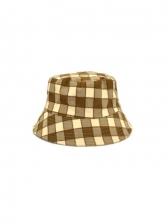 Latest Vintage Plaid Design Reversible Bucket Hat