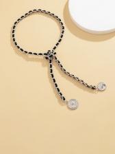 Vintage Patch Irregular Necklace Women