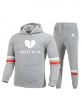 Fashion Letter Pattern Pullover Affordable Activewear