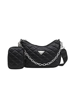 Summer RhombusPlaid Chain Shoulder Bags