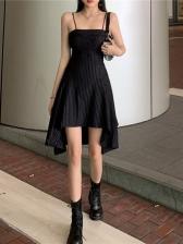 Boat Neck Camisole Striped Dresses Online