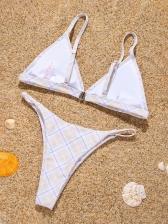 Latest Style V Neck Bikini Sets For Ladies
