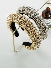 Sponge Solid Latest Style Hair Hoop Vintage