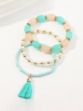 Trendy National Style Beading Bracelet Sets